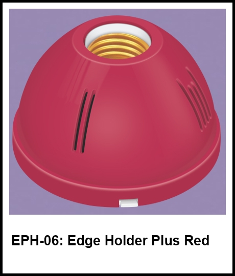 Electric Bulb Holder Red