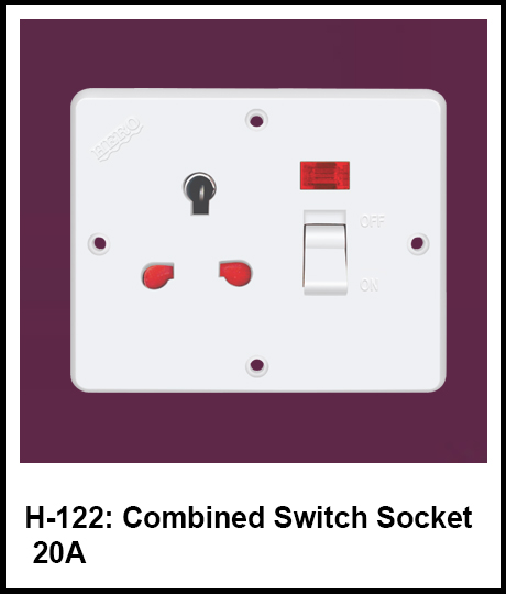 switch and socket combined