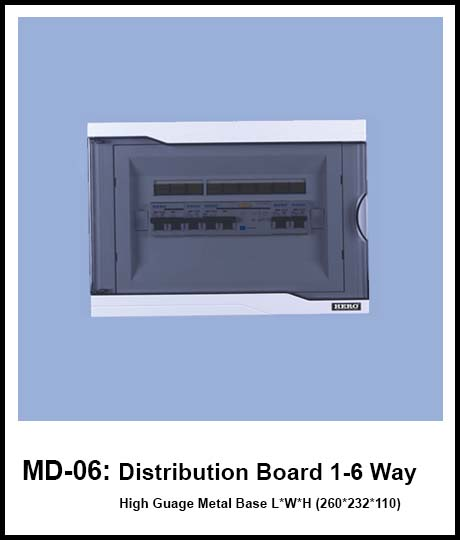 Metal Body Distribution Board hero electric