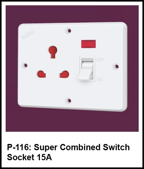 super switch and socket combined