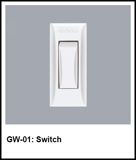 G Series Hero Electric switch