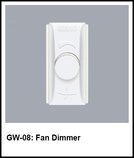 G Series Hero Electric fan dimmer