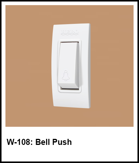 Stylish Series Best Electric Switches bell push