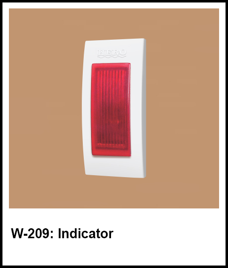 Stylish Series Best Electric Switches indicator