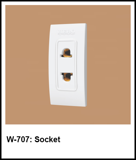 Stylish Series Best Electric Switches socket