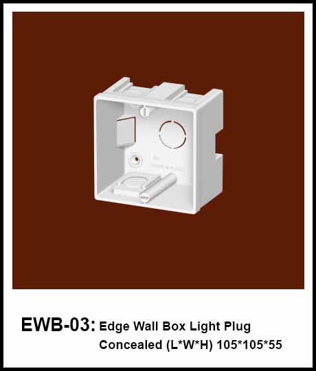 Pakistan Standard Concealed Electrical Wall Box