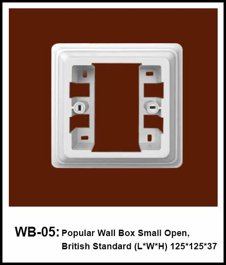 Wall Box British StandardBritish Standard Surface Mounting Frame 2