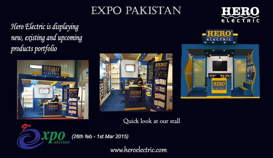 Hero Electric at 9th Expo Pakistan