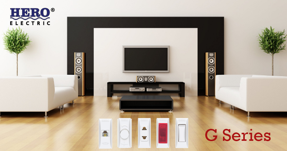 G Series Electric Switches and Sockets