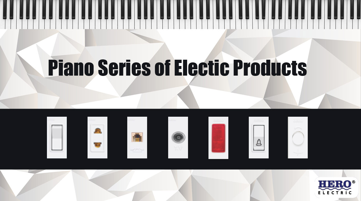 Piano Series- Electric Switches and Electric Sockets in Pakistan