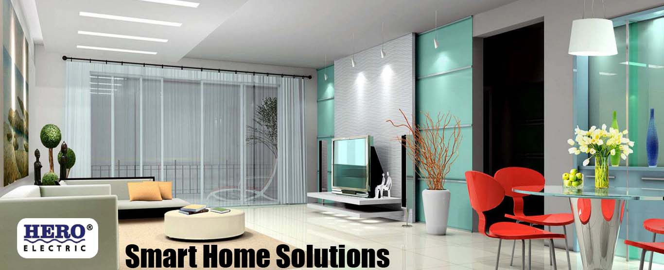 smart home solutions interior decoration hero electric