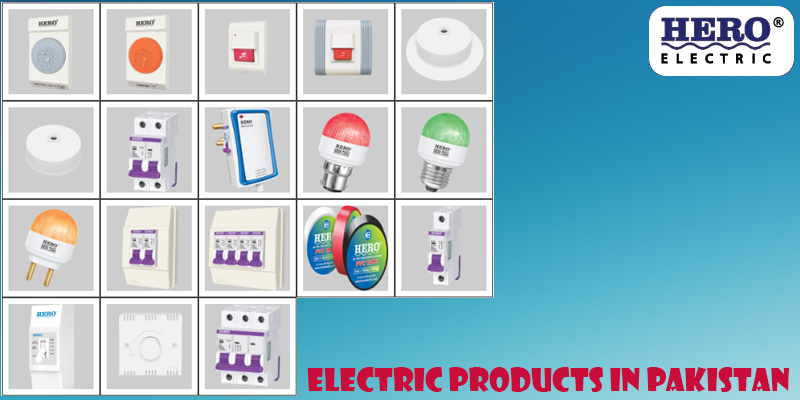 electric products in Pakistan