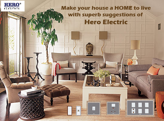 Make your house a HOME to live - Hero Electric